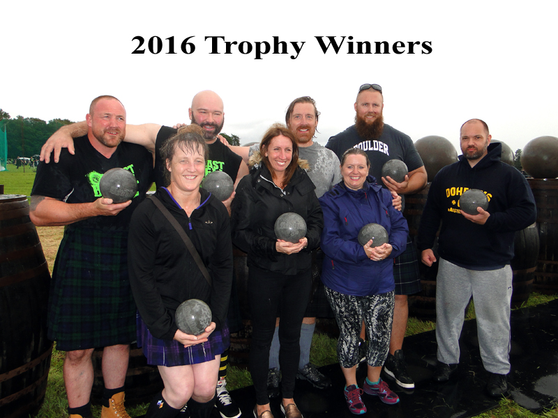 2016 Trophy Winners